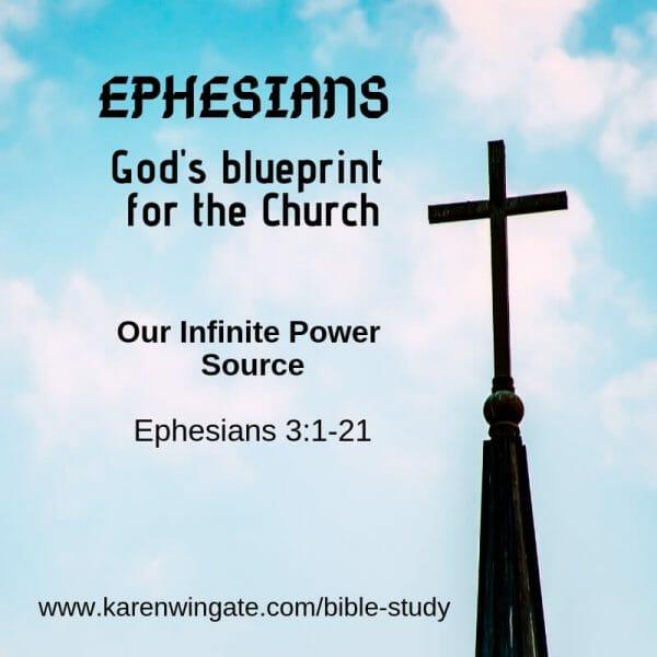 Ephesians - OUr Infinite Power Sourse