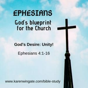 Unity in the Church - Ephesians 4 Bible Study