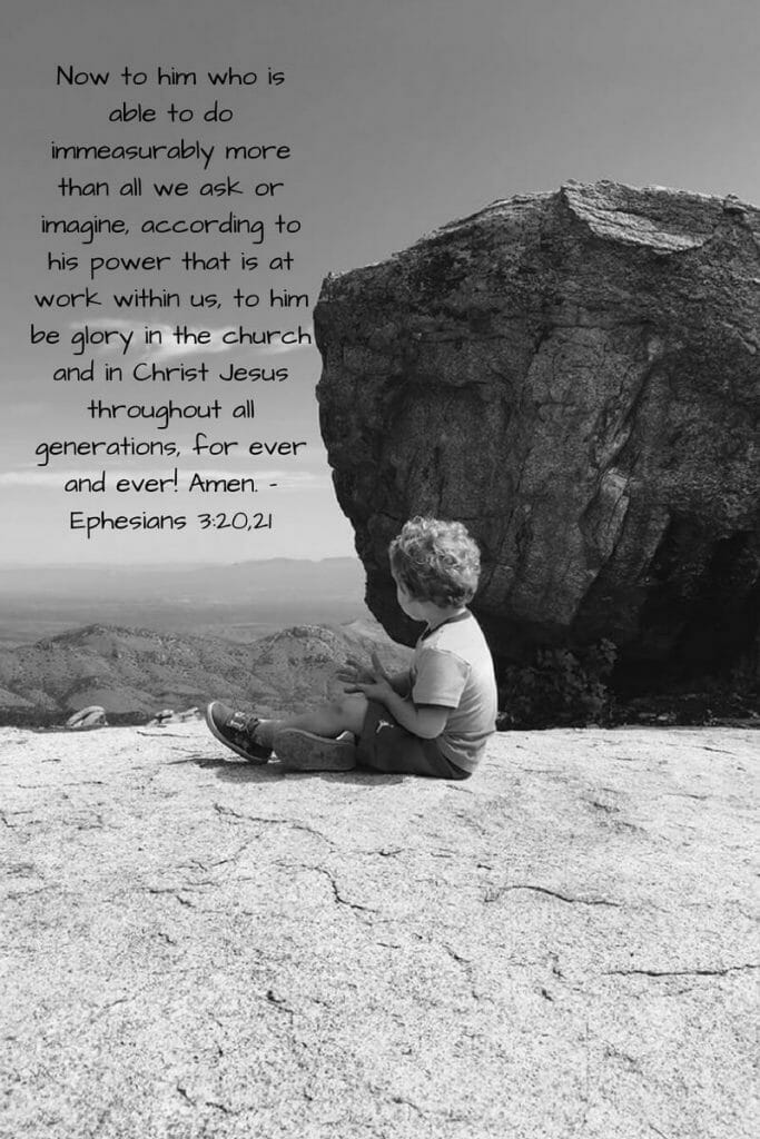 Ephesians 3:20,21 - The extent of God's Power
