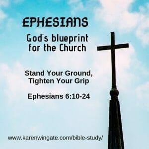Spiritual Warfare - Ephesians Bible STudy Session 8