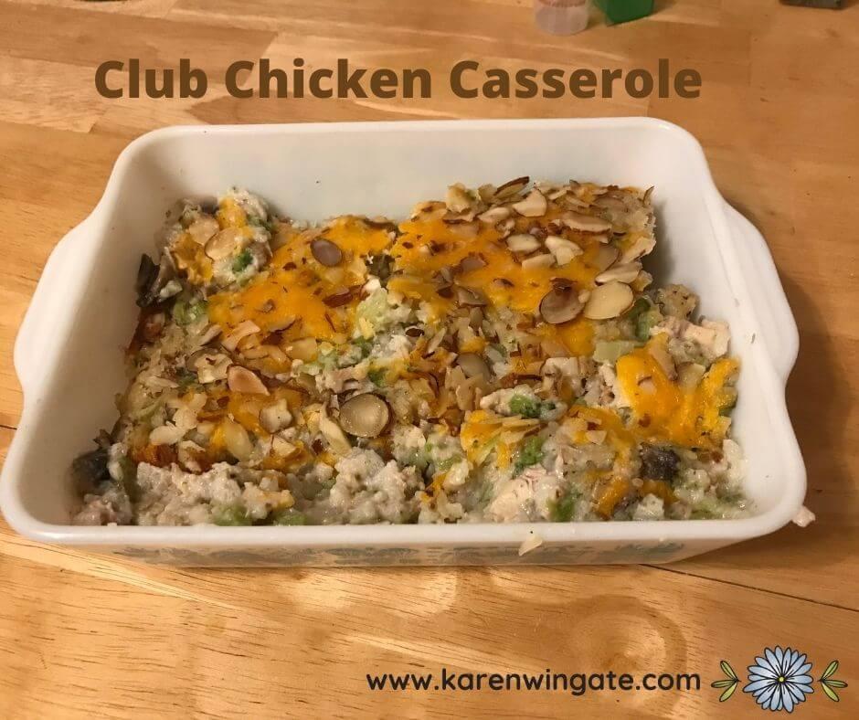 Club Chicken Casserole