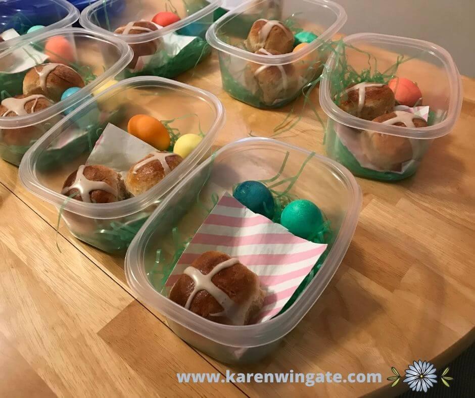 Easter baskets for your older friends