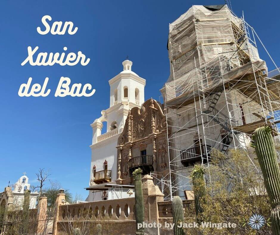 San Xavier del Bac photo by Jack Wingate